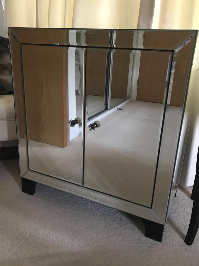 Mirror Cabinet, Dressing Table and Side Tables