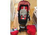 Mothercare MY4 travel system, pram, pushchair