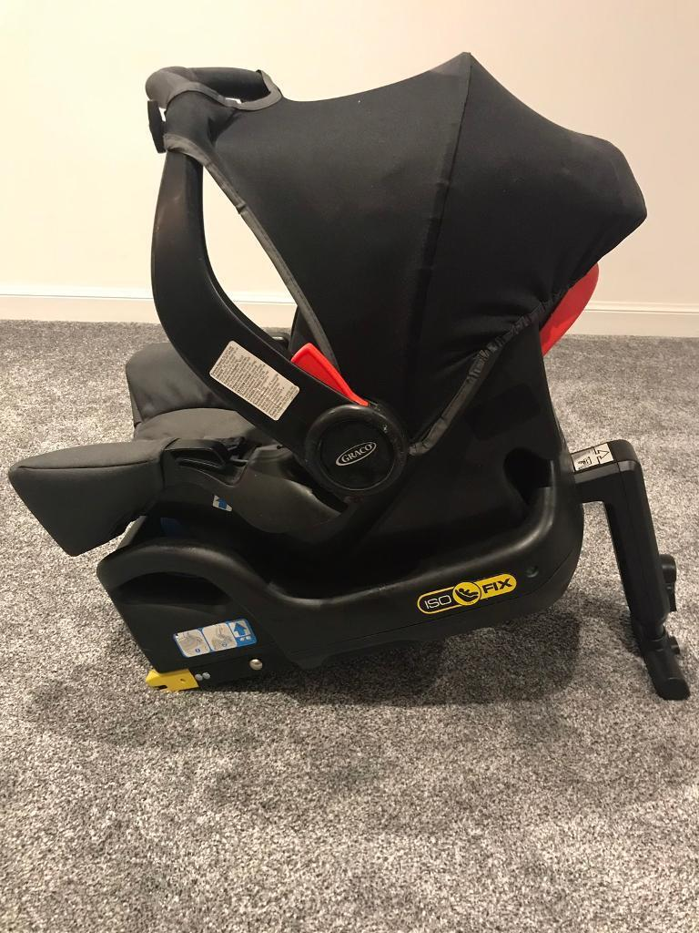 Graco Infant Car Seat With Isofix Base In Leslie Fife Gumtree