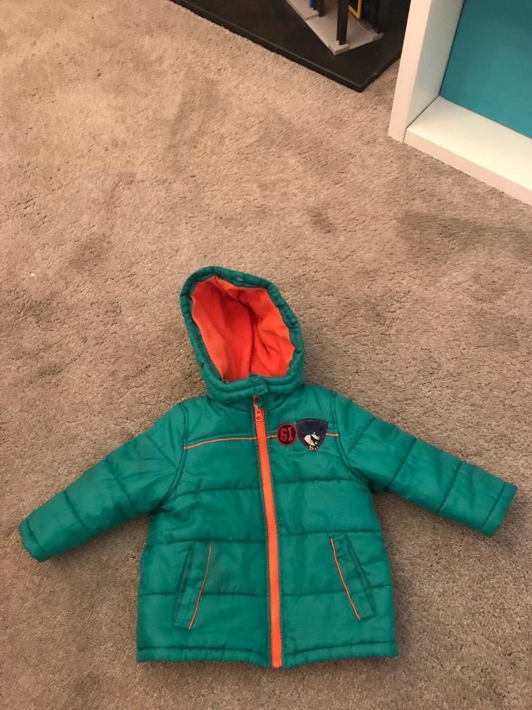 Boys Winter Coat 12-18months