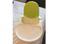 Fisher price booster chair for feeding baby