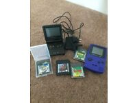 Original Gameboy with 3 games