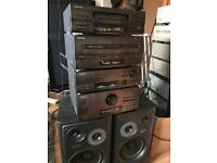 Technics Retro ch750 hifi system with Speakers 🔊 and remote