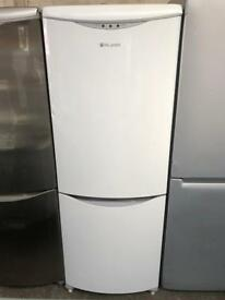 HOTPOINT free standing fridge freezer 6 ft tall 70 cm width in good condition and perfect working