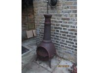 Used Cast Iron Chiminea