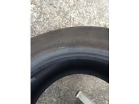 Two tyres. 225/55 A16 95V
