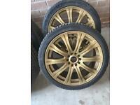 Full set 18 inch alloy wheels