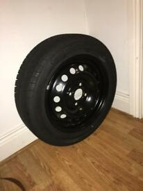 Nissan steel wheel/spare tyre **MINT**