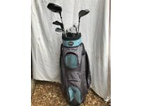 Master golf 13 clubs and a bag - ideal ladies starter set