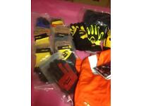 Joblot safety wear gloves boots coveralls