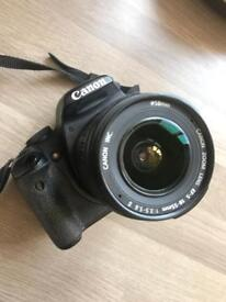 Canon EOS 500D used body and CANON 18 - 55mm f/3.5-5.6