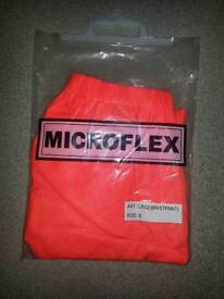 Microflex trousers size s