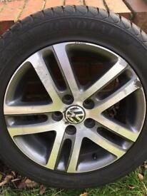 VW Atlanta 16 alloy wheels and Tyres