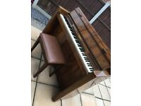 Eavestaff mini pianoette retro piano vintage 1950s