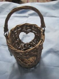 Five Assorted Small Baskets - Buy Separately or All Together for £7.00