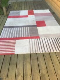 Hesta Red/Oster Wool Rugs - 2 Sizes 2.4/1.7 & 1.8/1.2