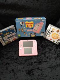 Pink Nintendo 2 Ds