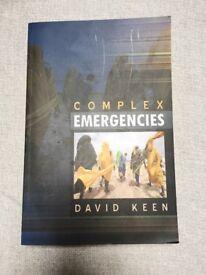 """""""Complex Emergencies"""" Book"""