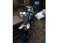 Demon x 125cc pit bike