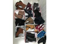 80 pairs of ladies wholesale footwear shoes womens joblot boots trainers job lot uk shoe