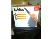 beldray 1000w handheld steam cleaner unused and boxed