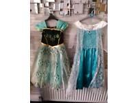 2 Frozen dresses