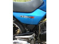 Honda cb250rs 81 not 25/04/2019