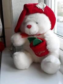I love you Valentine white bear