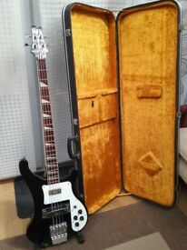 Shine Bass Guitar RK 2000NK with hard case