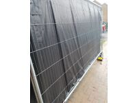 Heras fencing x 3 with feet & clamps ideal for building sites