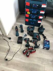 Bosch professional 18v package