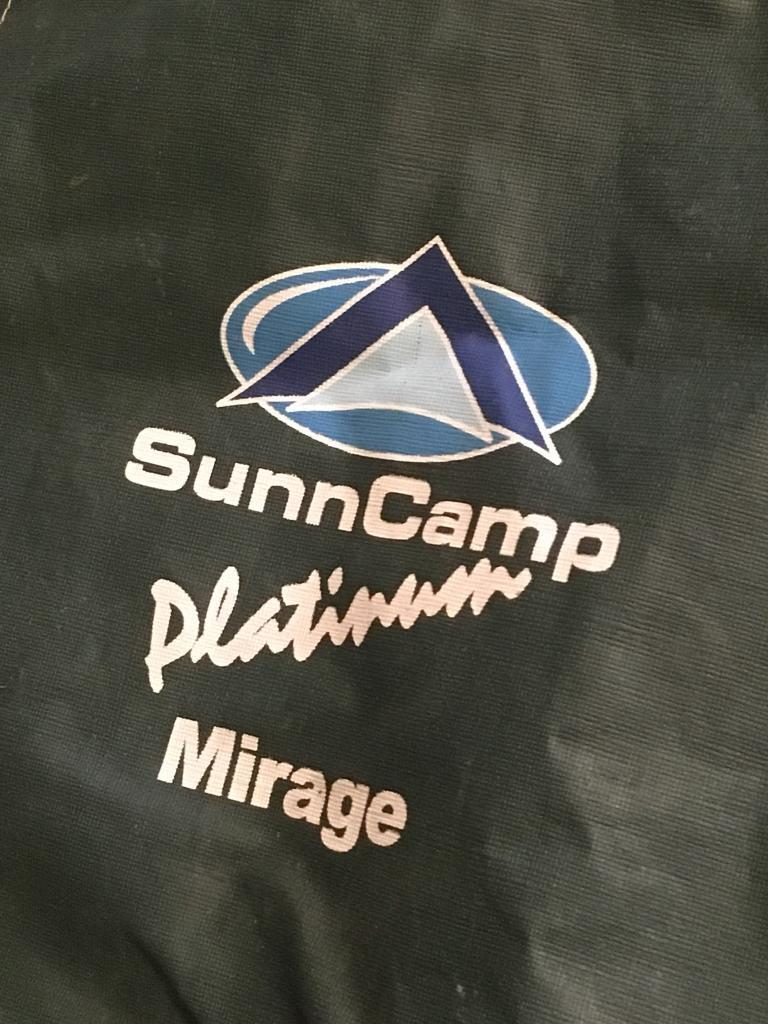 SunnCamp Platinum Mirage Caravan Awning Size 13