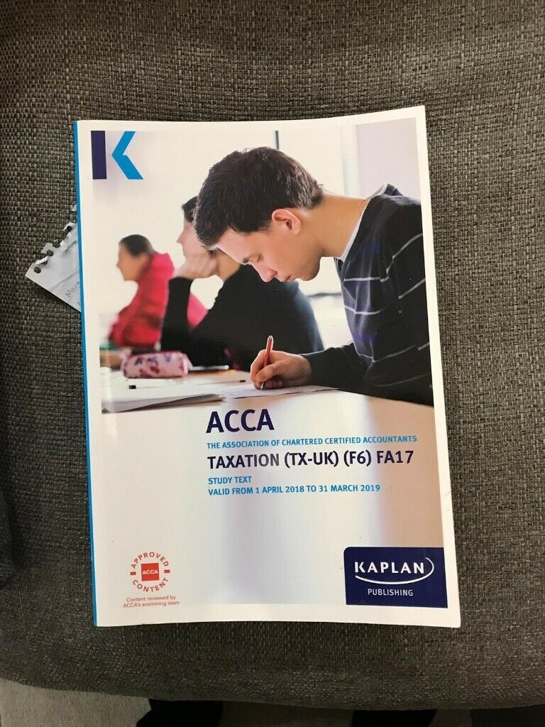 ACCA F6 (Taxation) Study Text   in Southville, Bristol   Gumtree