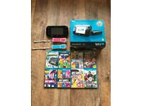Nintendo Wii U premium pack with 8 games not x box ps4