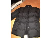 BLACK STONE ISLAND WINTER JACKET never worn, brand new with tags. Size medium. Black in colour.