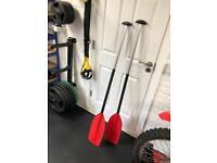 Pair of canoe paddles