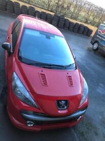 Peugeot 207 GTi fresh 12 Months Mot