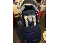 Maclaren XLR & Carrycot-only 18 months old!
