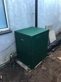 Worcester greenstar heatslave 12-18 external oil combi boiler