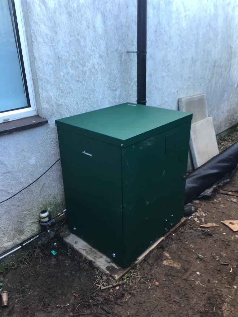 Worcester greenstar heatslave 12-18 external oil combi boiler | in ...