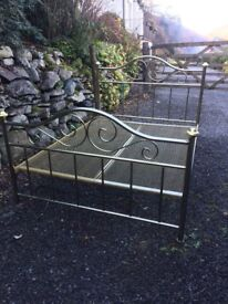 'Brass' Double Bed
