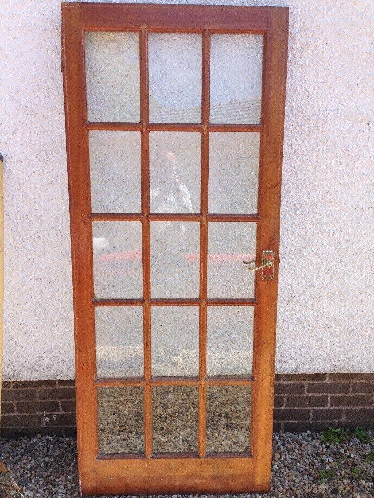 Solid Wood Internal Doors 15 Glass Panel 78 X 33 In East