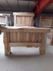 Single Solid Wood Bed Frame