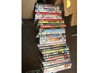 Job lot of DVDs 170 titles