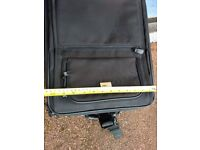 Small black carry on suitcase