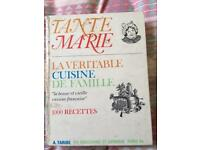 Tante Marie French Cookery Book- in FRENCH