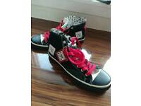 Mens high tops uk size 8, vision street wear, brand new with tags
