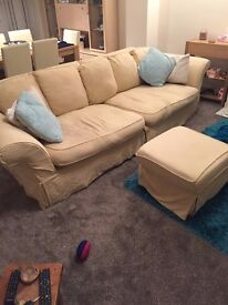 3 piece suite and a single chair £75 Bargain