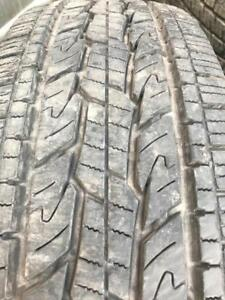 215-70-16 General 2 Used All Season Tires 90%Tread Free Install and balance
