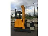 Jungheinrich ETV 116 Reach Truck Fork Lift for sale !